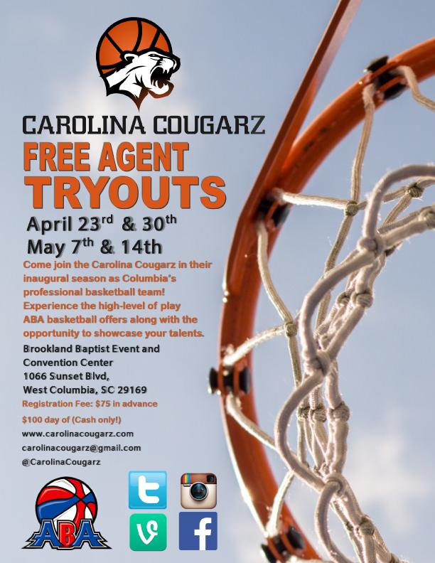 Carolina Cougars Columbia Sc
