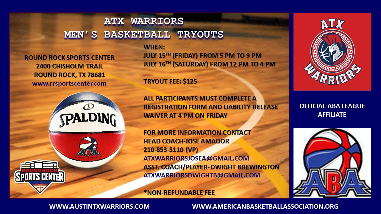 ATX Warriors Tryouts I